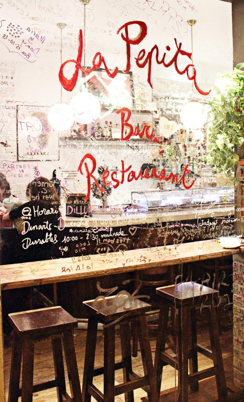 Mina tre favoritrestauranger i Barcelona justnu