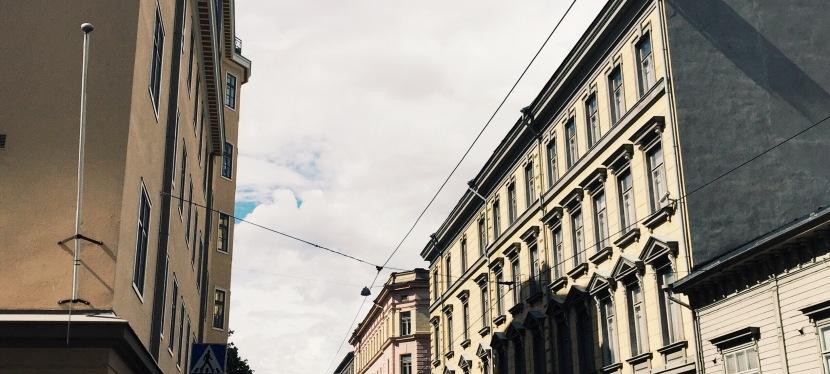 Vykort från Helsingfors, det första