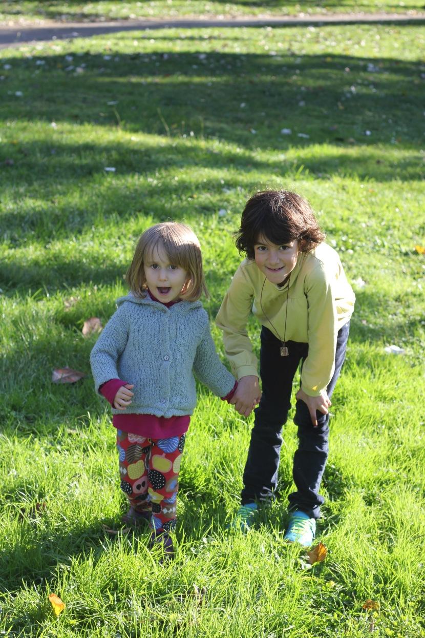 Picknick i parken, Sofia är här och hasta lavista!