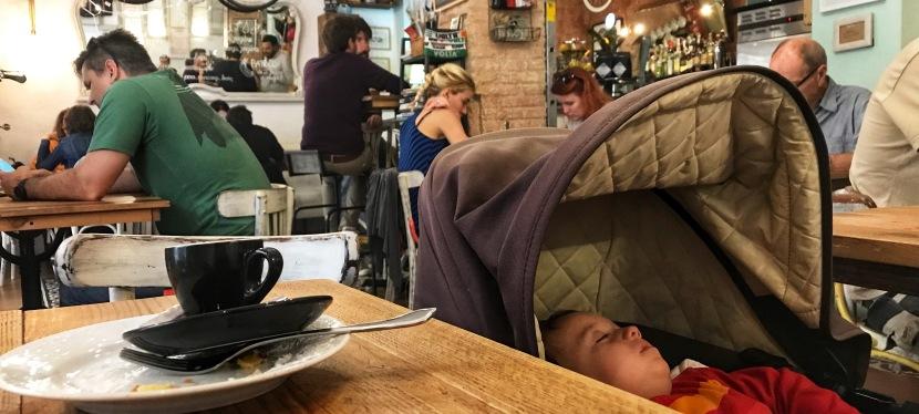 Egen företagare och hemma medsmåbarn