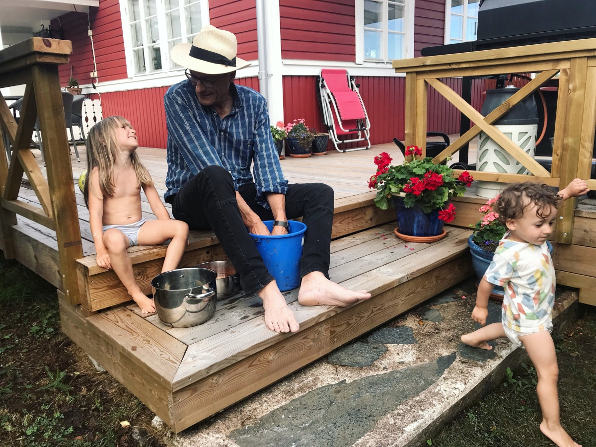 Sista dagarna av Åland-sommaren